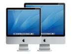 Die neuen iMacs gibt es mit 20- oder 24-Zoll-Monitor.