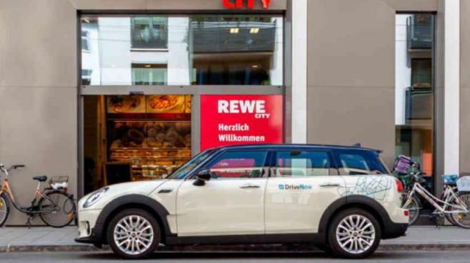 Das REWE-Paket von DriveNow©DriveNow/REWE
