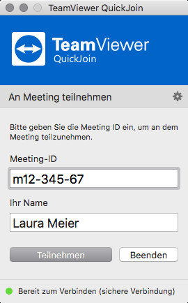 TeamViewer QuickJoin (Mac)