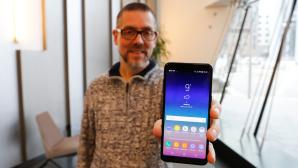 Samsung Galaxy A8 (2018) im Test©COMPUTER BILD