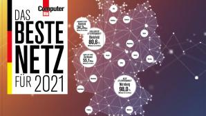 COMPUTER BILD-Test: Bestes Mobilfunknetz 2020/2021©COMPUTER BILD