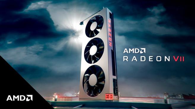 AMD Radeon VII mit 7-Nanometer-Gaming-CPU ©AMD