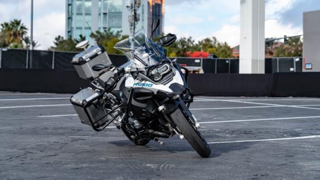 Autonomes BMW-Motorrad ©BMW
