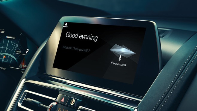 BMW Intelligent Personal Assistant © BMW