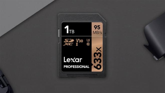 Lexar SD-Karte mit 1 Terabyte ©Lexar