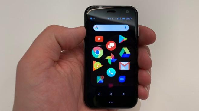 Mini-Handy von Palm ©COMPUTER BILD