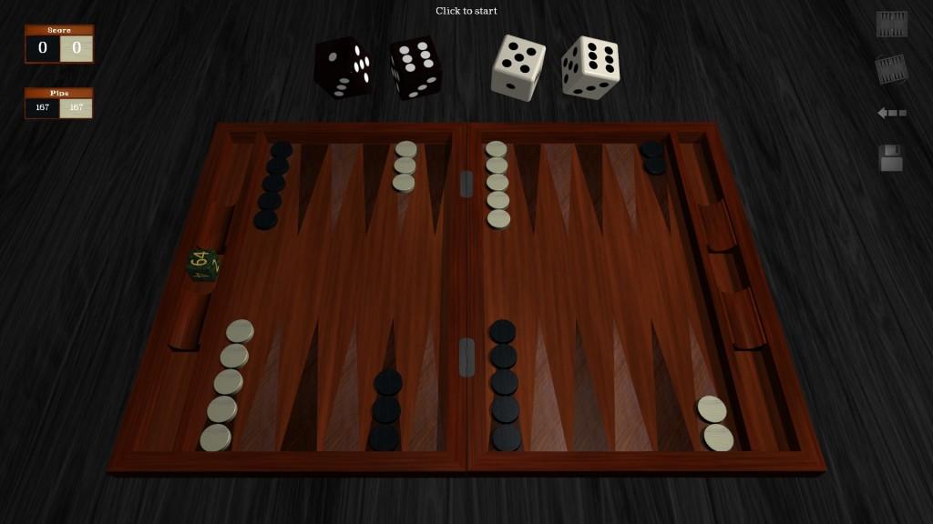 Screenshot 1 - Free Backgammon