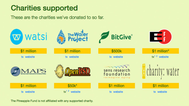 Pineapple Fund © Pineapplefund.org