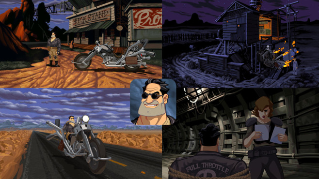 Full Throttle Remastered © Double Fine Productions