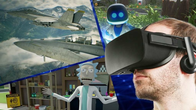 Die besten VR-Spiele©istock.com/shulz, Adult Swim Games, Sony, Bandai Namco