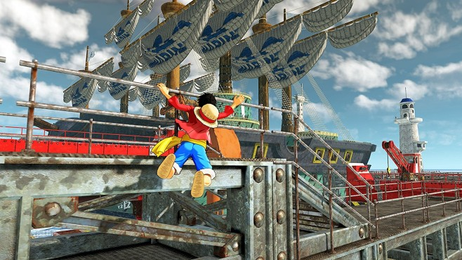 One Piece – World Seeker © Ganbarion