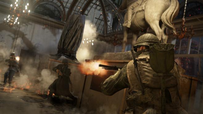 """Call of Duty – WW2: Infos und Termin zum DLC United Front Der """"United Front""""-DLC bringt drei neue Karten und eine neue Zombie-Episode für """"Call of Duty – WW2"""".©Activision"""