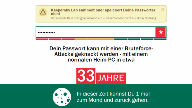 Account gehackt? Passwort sicher? ©COMPUTER BILD