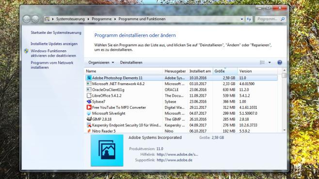 Alte Software auswechseln ©COMPUTER BILD