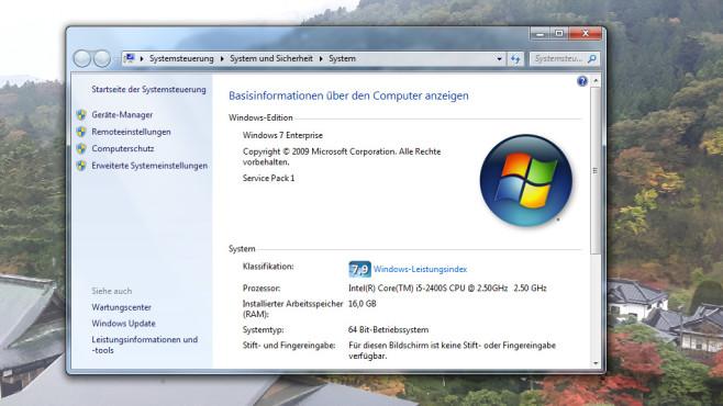 PC-Eckdaten sichten ©COMPUTER BILD