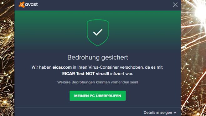 Phishing- und Virenschutz testen (2) ©COMPUTER BILD