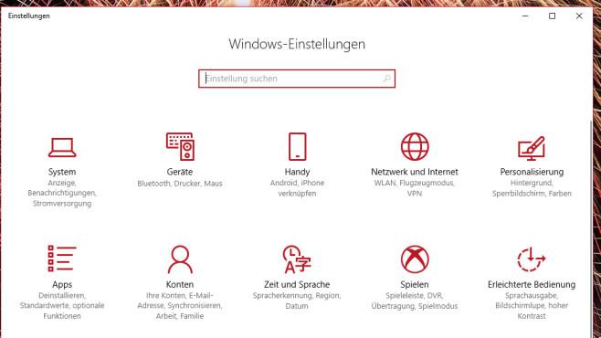 Windows-10-Einstellungen und -Apps durchgehen ©COMPUTER BILD