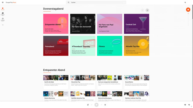 Screenshot Google Play Music © Google, COMPUTER BILD