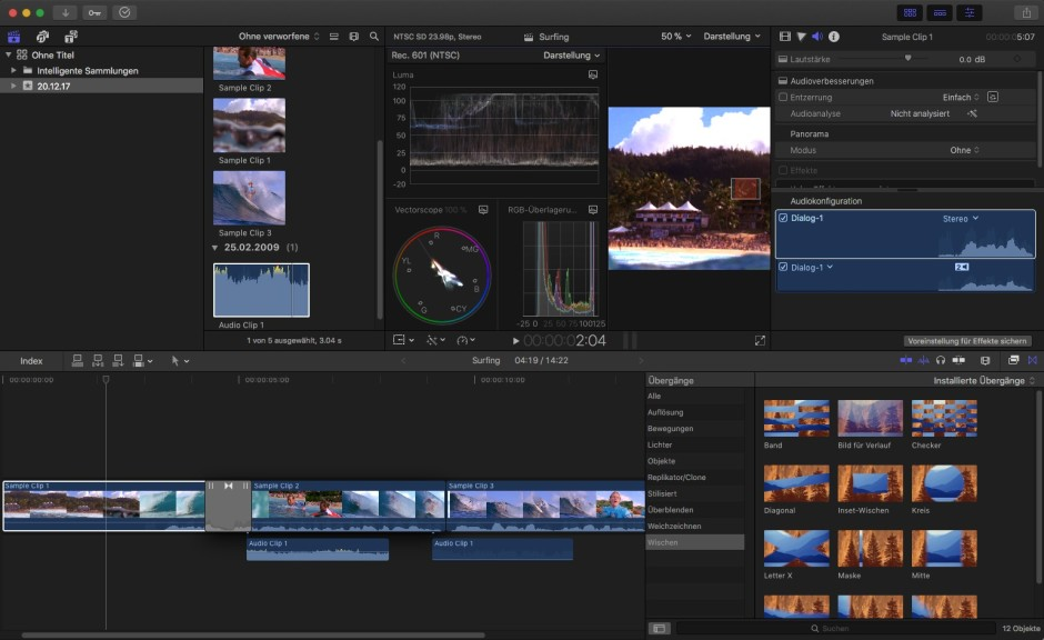 Screenshot 1 - Final Cut Pro X (Mac)