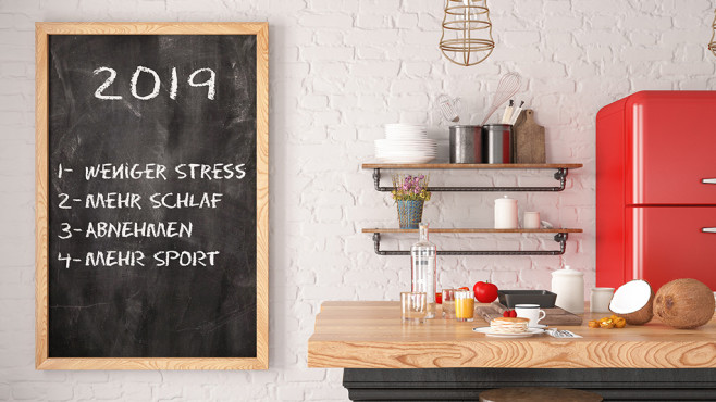 Gute Vorsätze 2019©istock.com/asbe