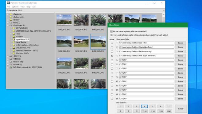 Fotos sortieren mit IrfanView: So nutzen Sie IrfanView Thumbnails©COMPUTER BILD