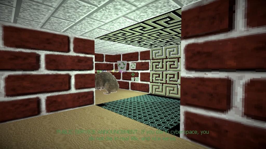 Screenshot 1 - Screensaver Subterfuge (Windows-95-Bildschirmschoner als Gratis-Spiel) (Mac)