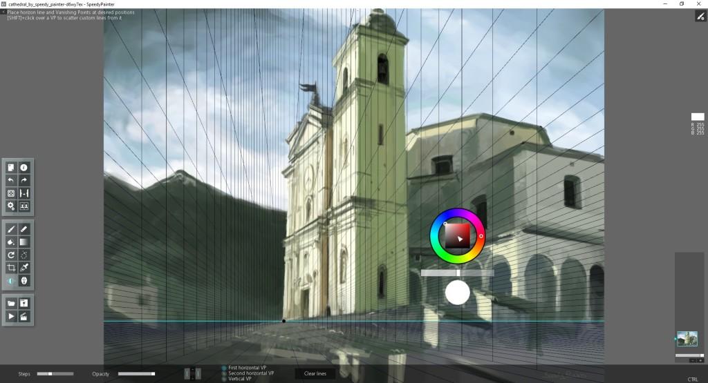Screenshot 1 - SpeedyPainter Portable