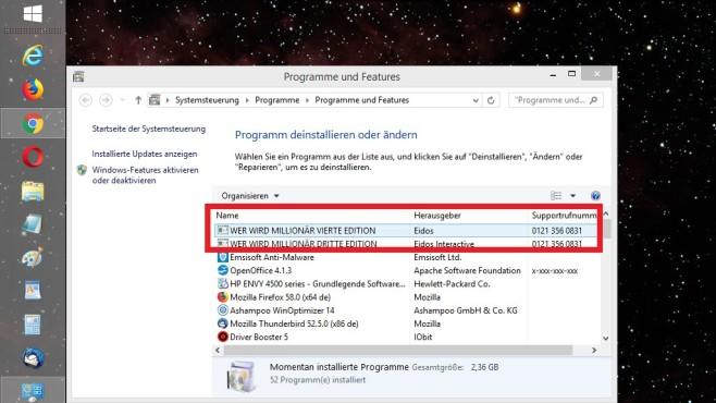 Windows 7/8/10: Geheime Telefonnummern für Software-Hilfe auslesen©COMPUTER BILD