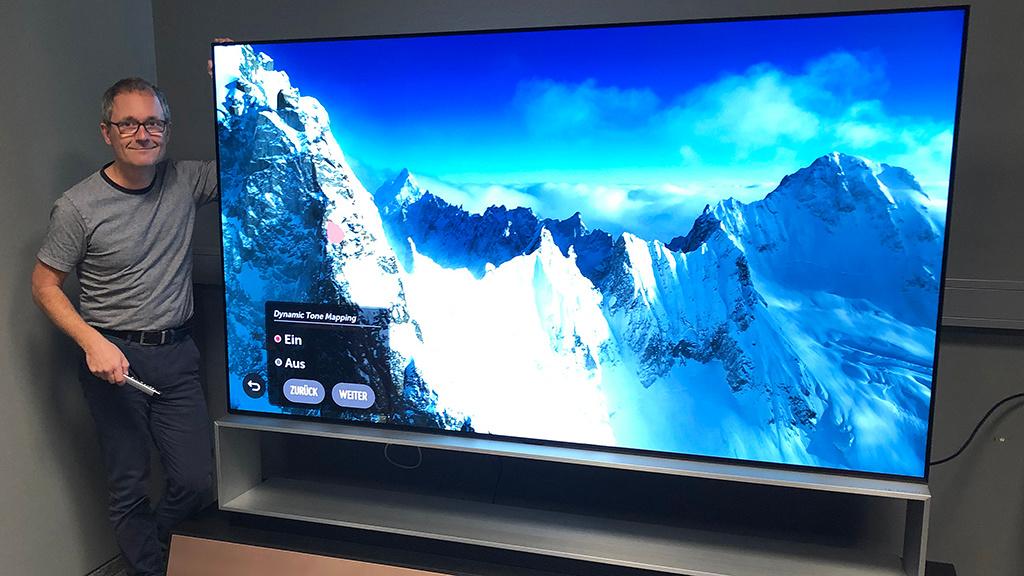 Größter Fernseher