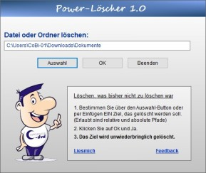 Power-Löscher