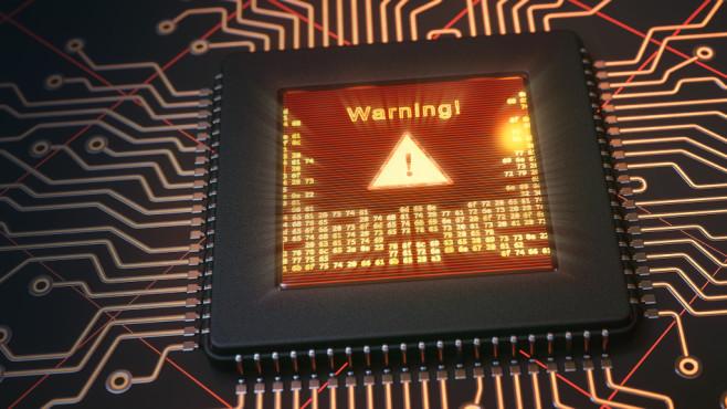 CPU-Sicherheitslücke: Achtung!©istock/matejmo