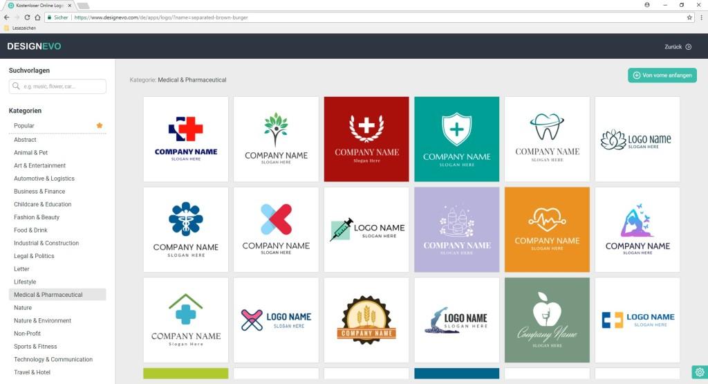 DesignEvo: Logos kostenlos online erstellen - Download - COMPUTER BILD