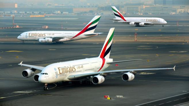 Drei Flugzeuge von Emirates©Emirates