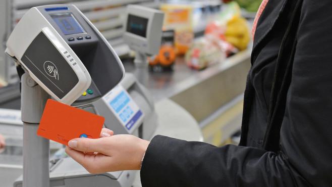 Aldi: Einkauf mit Kreditkarte©Aldi Süd