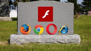 Adobe Flash Player deinstallieren: So verschwindet der Unsicherheitsfaktor Monat f�r Monat st�uben Negativschlagzeilen zu Sicherheitsl�cken Flash-Nutzern die Haare � schmei�en Sie den Player weg!©iStock.com/digitalhallway