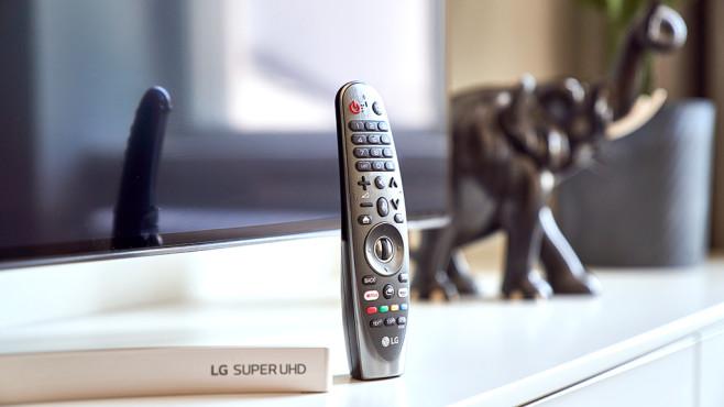 LG 65SK9500 Fernbedienung©LG Electronics