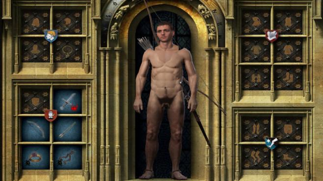 Heiße Pixel: Das sind 22 richtig prickelnde Nackt-Mods Bei Kämpfen nutzt das Adamskostüm wahrscheinlich relativ wenig...©NexusMods, hvip4