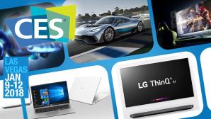 CES 2018: Die verrücktesten Gadgets der Messe©COMPUTER BILD, Daimler AG, LG, HTC, Nvidia
