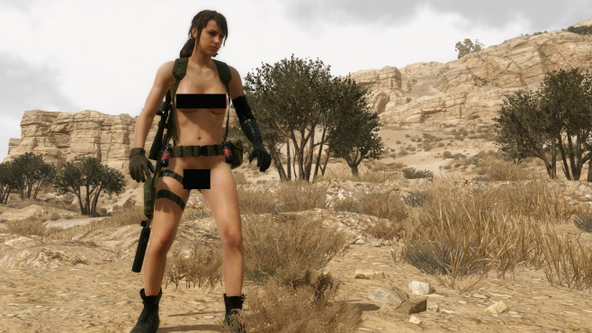 Metal Gear Solid 5: © Morbidslinky, NexusMods