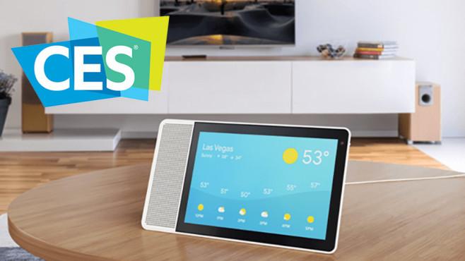 Smart Screen mit Temperaturanzeige©Google, CES