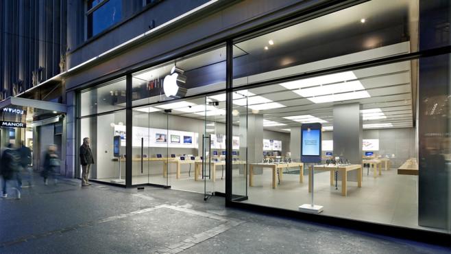 Apple Store in Zürich©Apple