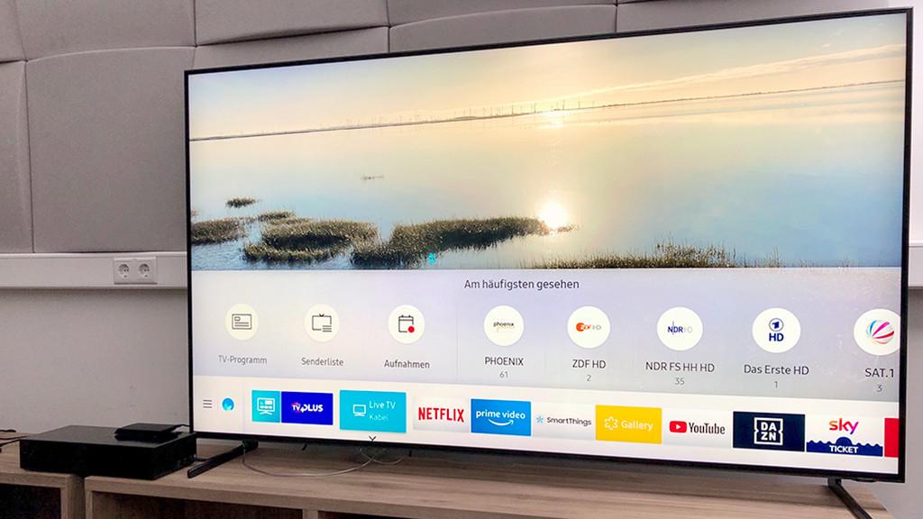 Samsung Q900 8k Qled Fernseher Im Test Audio Video Foto Bild