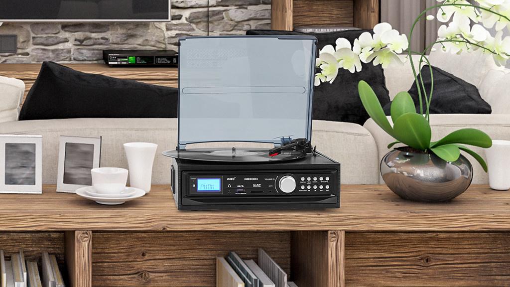 Medion E69468: Schallplatten-Digitalisierer bei Aldi