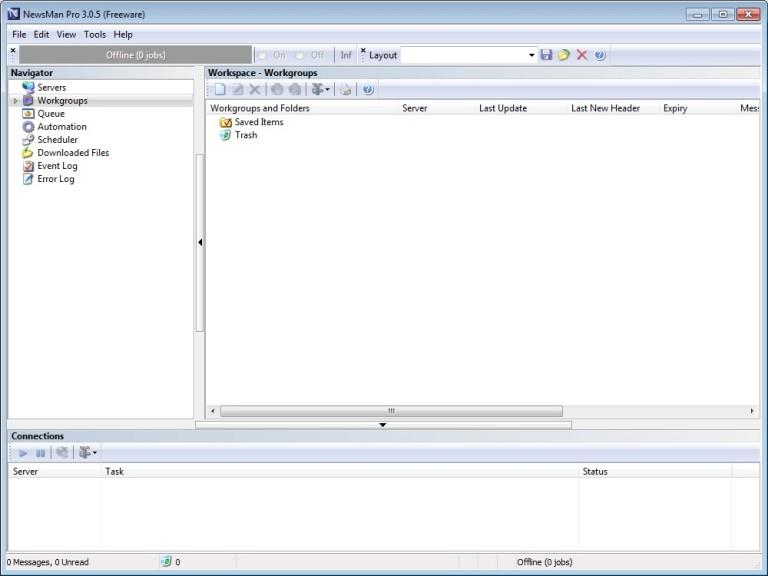 Screenshot 1 - NewsMan Pro