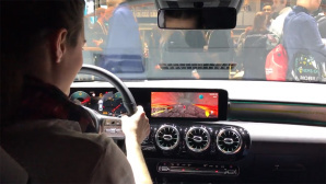 Gaming im Auto©COMPUTER BILD / Daimler