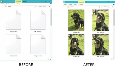 Screenshot 1 - CopyTrans HEIC