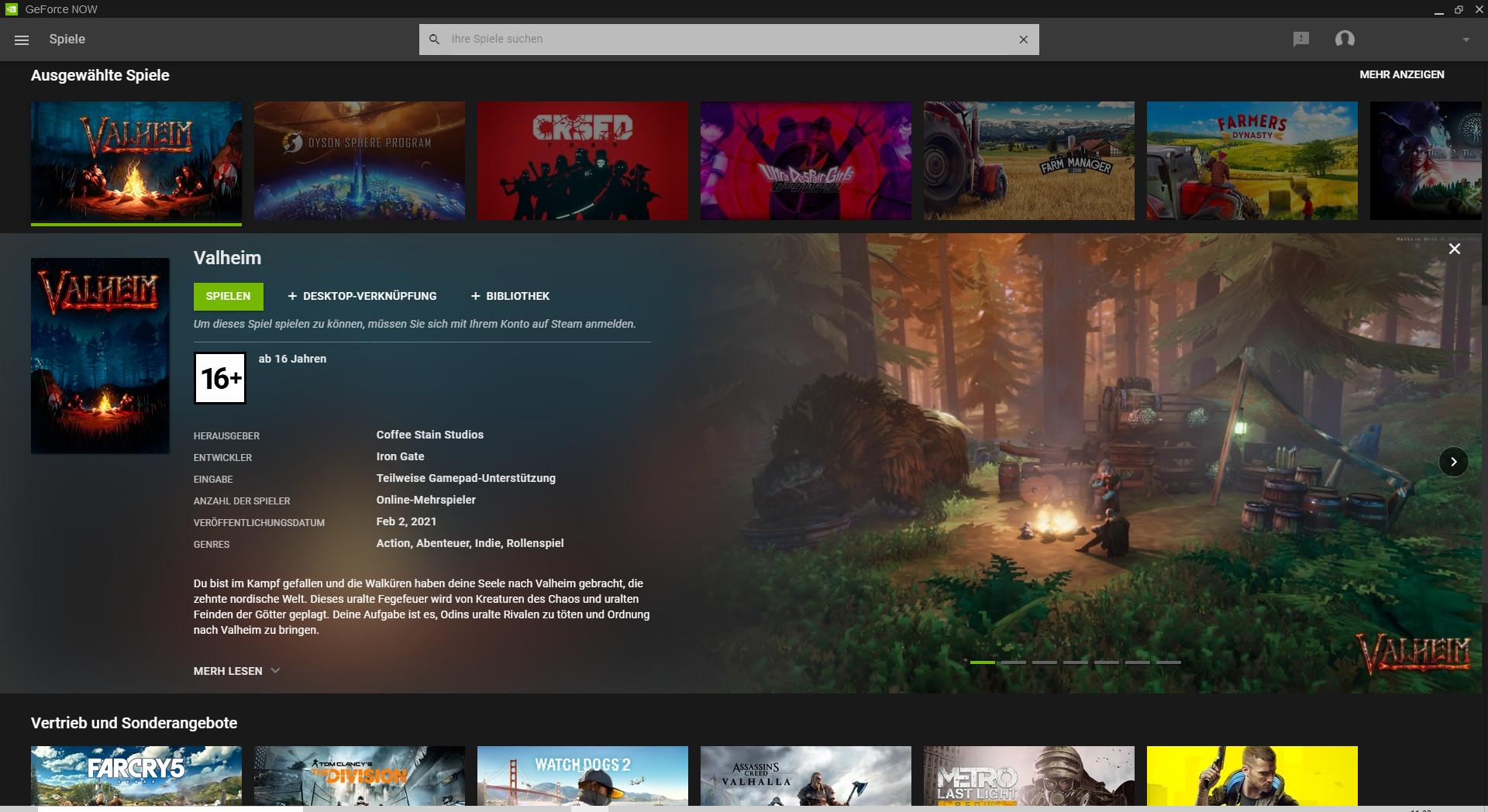 Screenshot 1 - GeForce Now