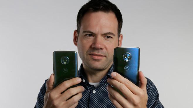 Motorola Moto G6©COMPUTER BILD