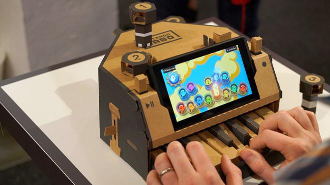 Nintendo Labo: Klavier©COMPUTER BILD