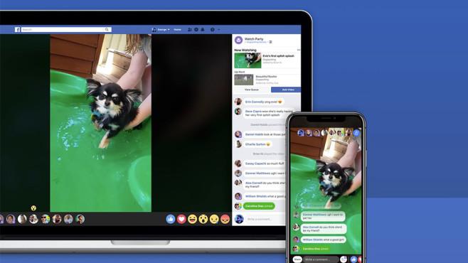 Facebook-Video mit Reaktionen von Nutzern©Facebook